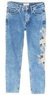 Jeans a sigaretta - medium blue