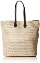 PIECES - Pclibine Straw Bag, Henkeltasche Donna