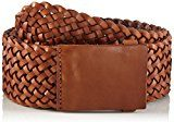 PIECES Pcbevin Leather Waist Belt, Cintura Donna