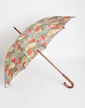Cath Kidston - Kensington - Ombrello con stampa floreale autunnale