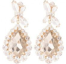 PRINCESS - Orecchini - gold-coloured/topaz/crystal