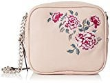 New Look Embroidered - Borse a tracolla Donna, Beige (Oatmeal), 4x16x16 cm (W x H L)