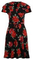 FLORAL WRAP - Vestito di maglina - multi colour