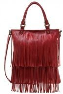 Shopping bag - red