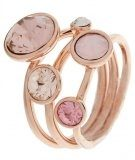 Anello - rose gold/pink multi
