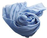 Prettystern - bicolore taffetà di seta cangiante 100% seta XXL - XL Stola sciarpa di seta - abito da sera compagno