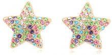 Orecchini a stella con Swarovski Elements