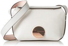 Calvin Klein Jeans K60K602422, Borsa a Tracolla Donna, Bianco (Stone), 9 x23 x14 cm (B x H x T)