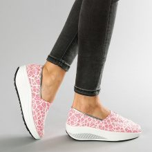 Slip on fitness leopardate