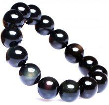 Bracciale di perline in pietra naturale