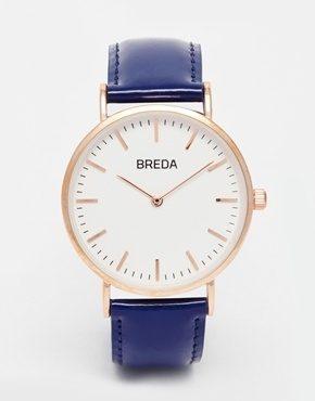 Breda - Orologio classico stile minimal in pelle
