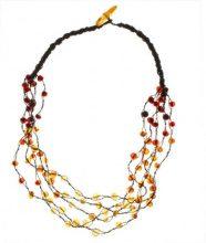 InCollections 081044B049L570 - Collana da donna con ambra, 500 mm
