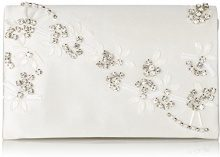 Menbur WeddingRosalinda - Pochette Donna , Avorio (Elfenbein (Ivory 04)), 19x12x8 cm (B x H x T)