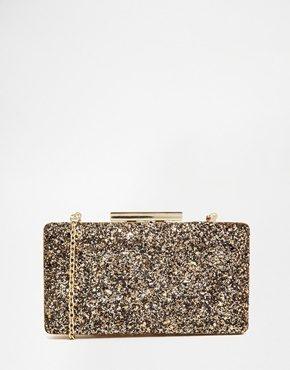 Oasis - Pochette squadrata con glitter