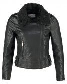 VMTRACY - Giacca in fintapelle - black