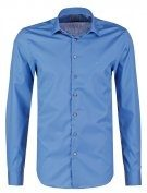 CANNES FITTED - Camicia elegante - blue