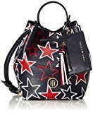 Tommy Hilfiger Love Mini Bucket Star - Borse Tote Donna, Multicolore (Star Print), 10x21x18 cm (L x H D)