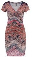 AVELINA - Vestito di maglina - rose