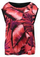 TROPICAL PALM - Camicetta - red