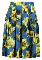 Dorothy Perkins FLORAL  Gonna a campana blue