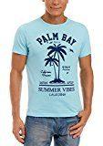 oodji Ultra Uomo T-shirt Stampa Spiaggia