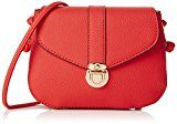 New Look Mini - Borse a tracolla Donna, Orange (Orange Pattern), 7x18x26 cm (W x H L)