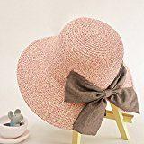 Belsen Grande arco moda Ms. pescatore Cappello di paglia tesa larga