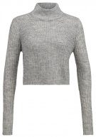 ONLNEW HAYLEY - Maglione - light grey melange