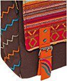 Sunsa Messengertasche, Borsa a tracolla donna Multicolore multicolore Größe circa 22x26x8 cm