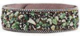 Aivtalk Vintage ladyies donne braccialetto bracciale in pietra naturale Detritus