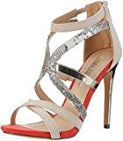 Buffalo Shoes Rk 1405-040 Microfiber Pu, Sandali con Zeppa Donna