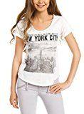 oodji Ultra Donna T-Shirt con Stampa Urban