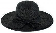 Cappello di paglia con drappeggio
