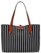 BOBBI - Shopping bag - black/white