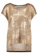 ONLY ONLPLEARL Tshirt con stampa gold colour