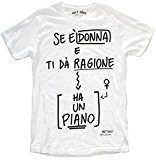 MY T-SHIRT Ha Un Piano, T-Shirt Uomo