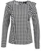 GINGHAM PHOEBE FRILL  - Camicetta - white pattern