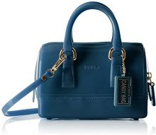 FURLACandy Sweetie Mini Satchel - Borsa a tracolla donna , Candy Sweetie Mini Satchel, blu