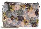 PARFOIS PARTY SEQUINS FLOWER BURST Pochette purple