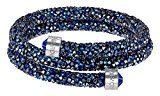 Swarovski Bracciale da Donna Swarovski crystaldust Bracelet Acciaio Inossidabile Cristallo Blu Taglio Rotondo–5255903