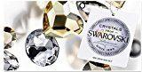 Crystals & Stones * * Rivoli * * 12mm * Montana * 925Argento Orecchini Donna Orecchini con cristalli di Swarovski Elements, ideale come regalo per donna o ragazza Pin/75