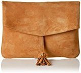 Unisa ZBITIA_KS, Clutch Donna, Marrone (Couro), 3 x 18 x 26 cm (B x H x T)