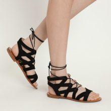 Sandali alla schiava con lacci