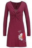 Vestito di maglina - ruby wine