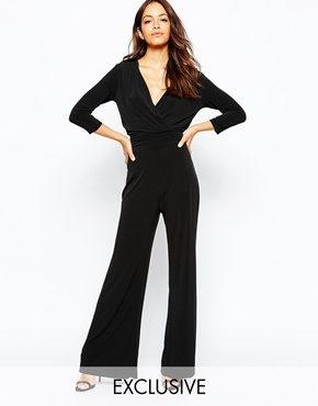 Never Fully Dressed - Salopette lunga anni '70 con fondo ampio