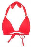 BEACH CLUB - Bikini pezzo sopra - red