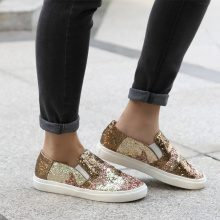 Slip-on glitter metallizzate