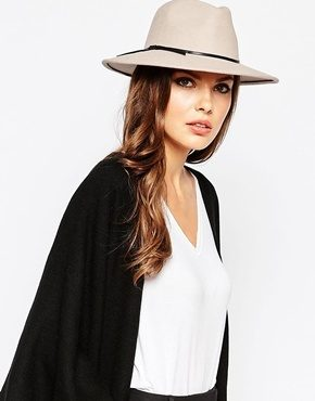 Reiss - Ava - Cappello trilby in lana