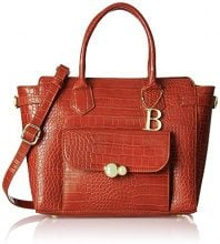 Bulaggi Saura Handbag - cartella Donna, Orange (Burnt Orange), 25x13x29 cm (B x H T)