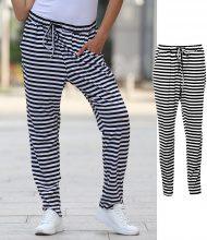 Pantaloni della tuta a righe